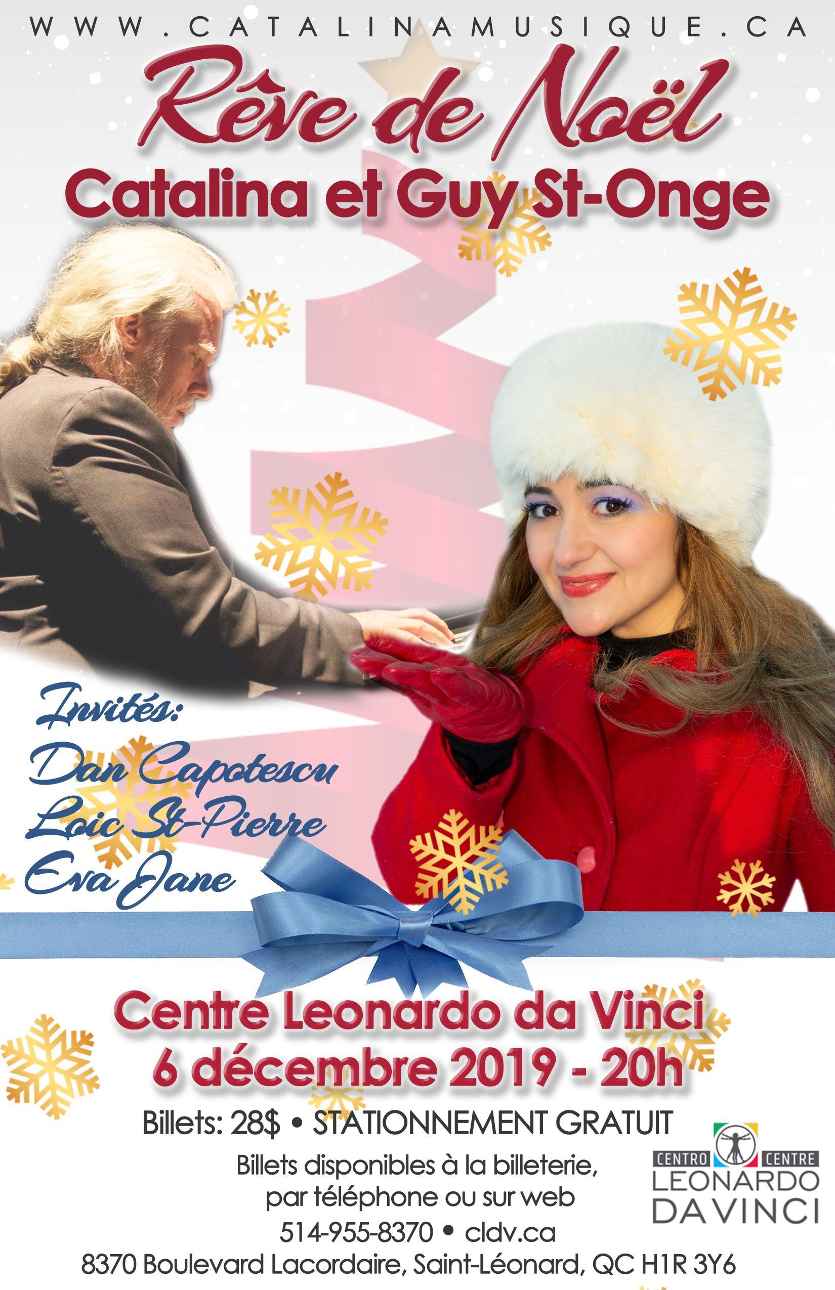 Rêve de Noël - Catalina et Guy St-Onge